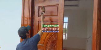 Gọi thợ sơn đồ gỗ uy tín chất lượng giá rẻ ở Hà Nội
