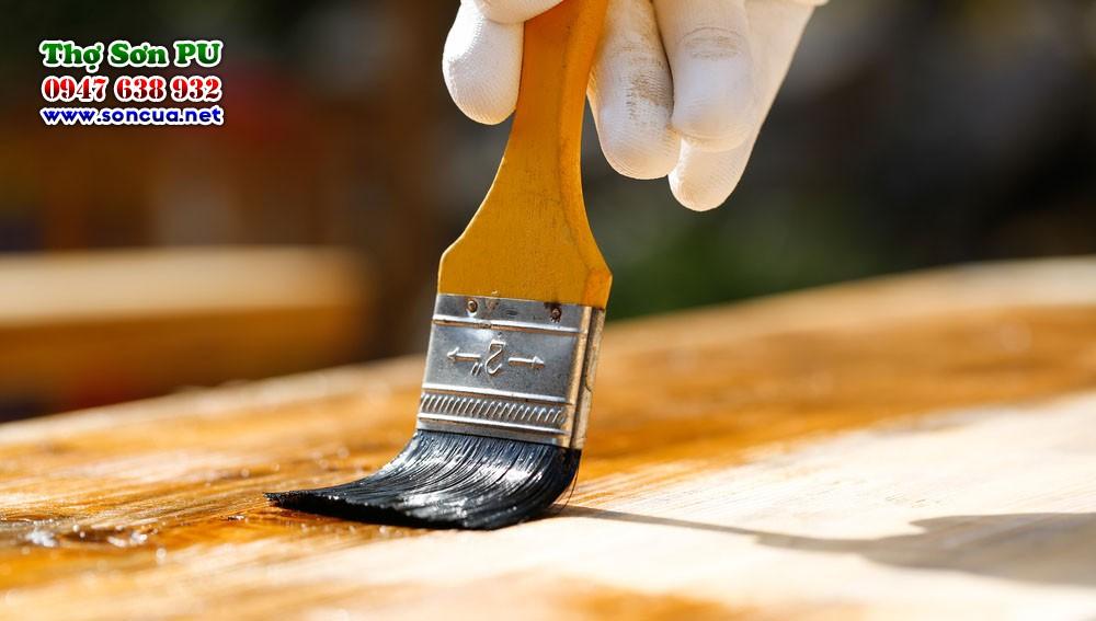 Sơn lại đồ gỗ cũ, thợ sơn pu hà nội
