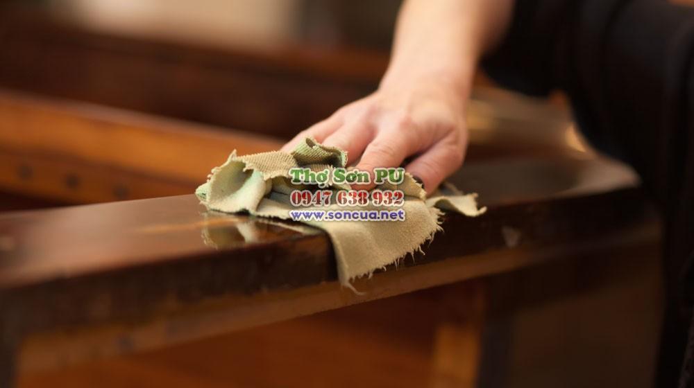 Quy trình sơn lại đồ gỗ cũ