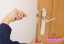Nhận sửa chữa cửa gỗ tại nhà Hà Nội